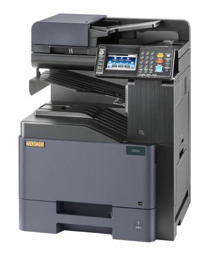 Der Utax-DIN-A4-Farb-MFP 300ci.