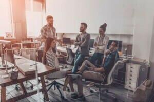 Start-ups Arbeitsmodelle