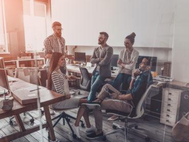 Arbeitsplatz der Zukunft: digitale Technologien werden im Arbeitsleben immer wichtiger