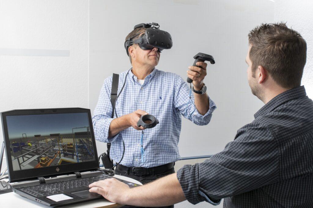 Logistikplanung: Ergonomische Arbeitsplätze mit VR-Modellen entwickeln