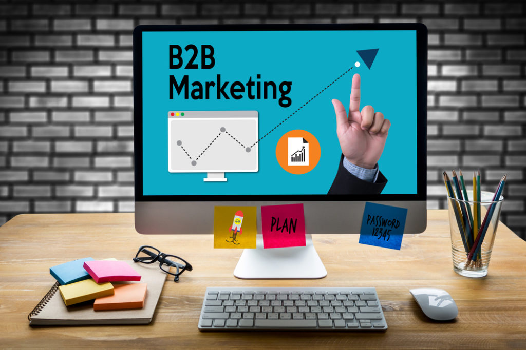 Vertriebsleiter B2B-Marketing Marketingstrategie