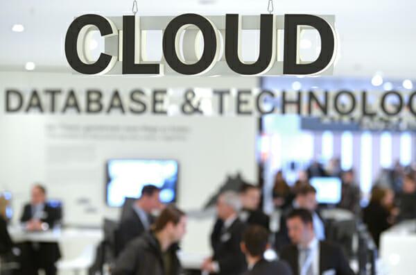 Thema Cloud auf der CeBIT.