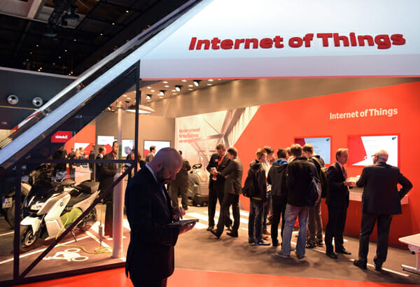 Internet der Dinge als Thema der CeBIT.