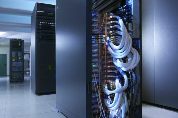 Cloud-Rechenzentrum der Telekom.