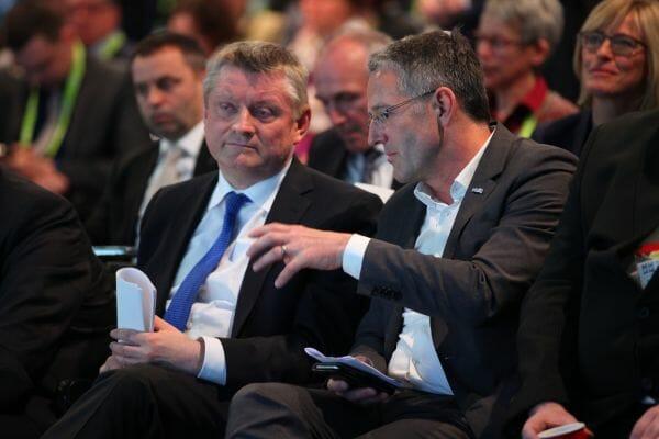 Bundesgesundheitsminister Gröhe auf der conhIT 2016.