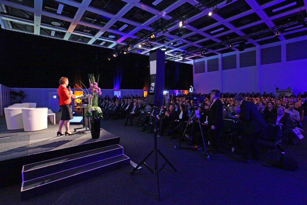 Eröffnungsveranstaltung der conhIT 2015.