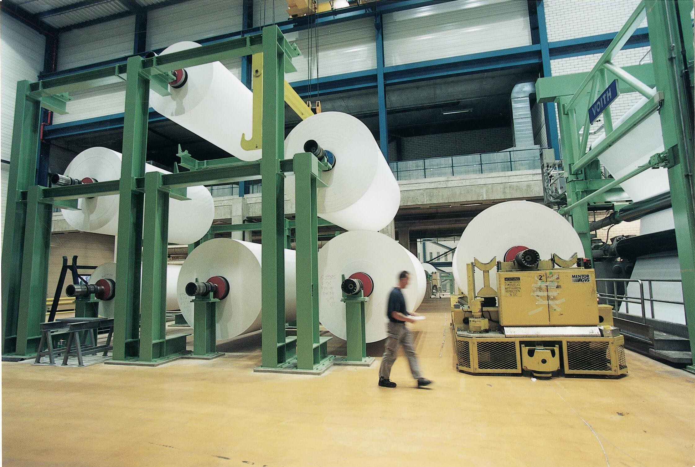 Thermopapiere von Koehler bestehen aus einem hochwertigen Basispapier.