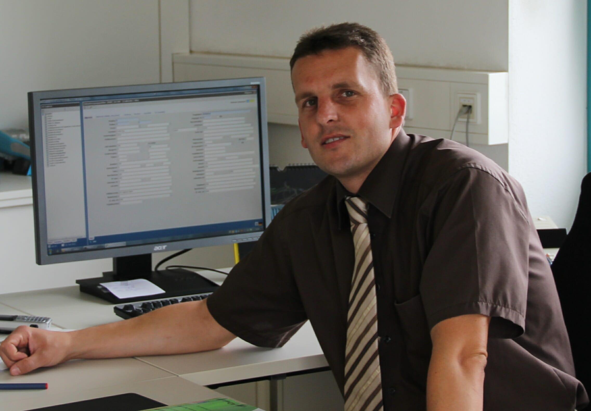Thomas Ilg, Einkaufsleiter bei der Groninger & Co. GmbH.