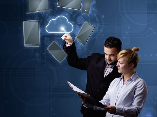 Passende Cloud-Services auswählen.