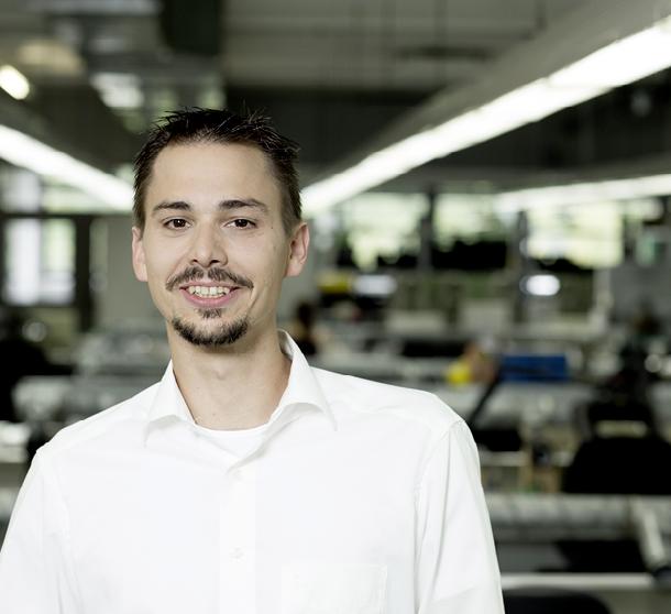 Dieter Hocke, Systemadministrator bei der ADAPT Elektronik GmbH.