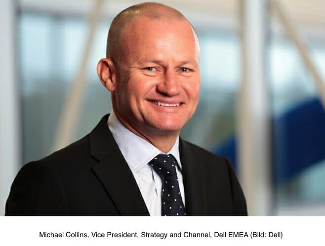 Michael Collins ist neuer Vice President, Strategy and Channel bei Dell EMEA.