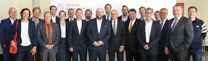 Gründungsmitglieder Charta digitale Vernetzung