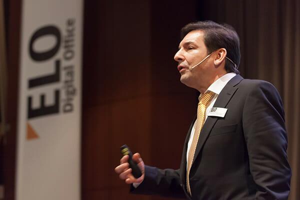 ELO-Geschäftsführer Karl Heinz Mosbach.