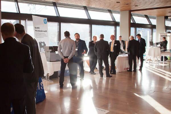 Die den ELO-Fachkongress begleitende Ausstellung.