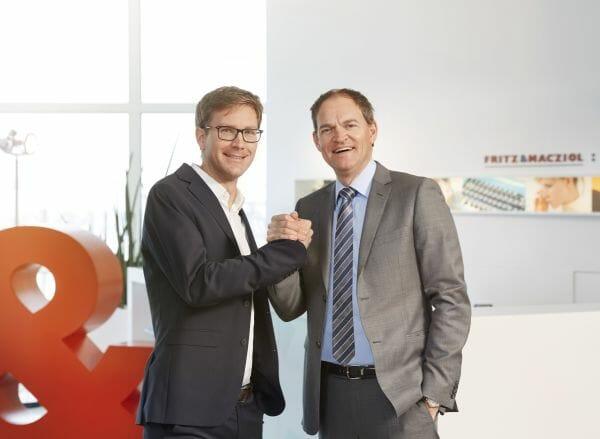 Dr. Bernhard Kirchmair und FUM-Geschäftsführer Oliver Schallhorn.