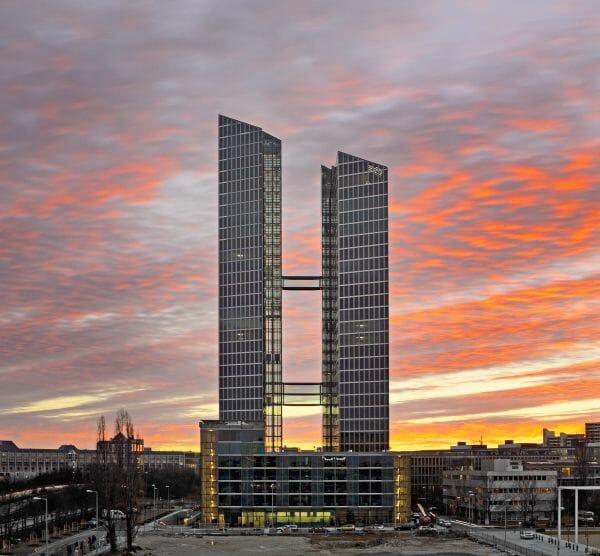 Die Highlight-Towers in München sind neuer Standort des IBM-Geschäftsbereichs Watson IoT.