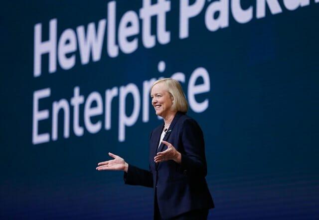 Meg Whitman ist CEO von Hewlett Packard Enterprise