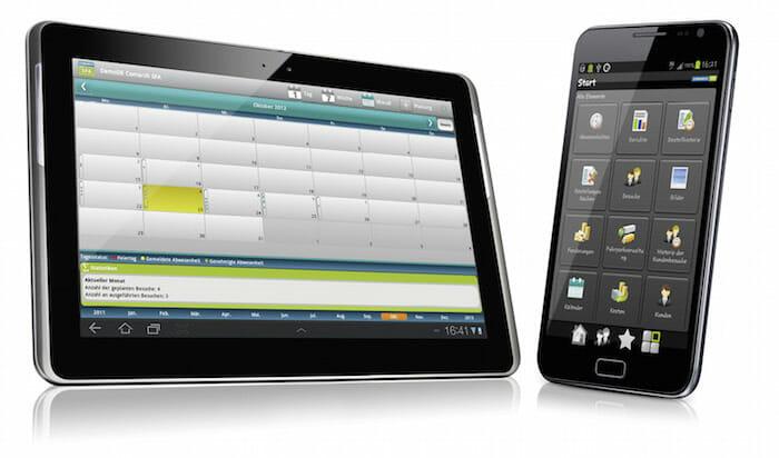 Mobile Lösungen steuern Geschäftsprozesse.