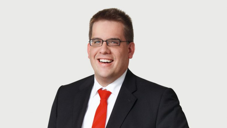 Jörg Mecke, Business Unit Manager Business Productivity bei Fritz und Macziol.