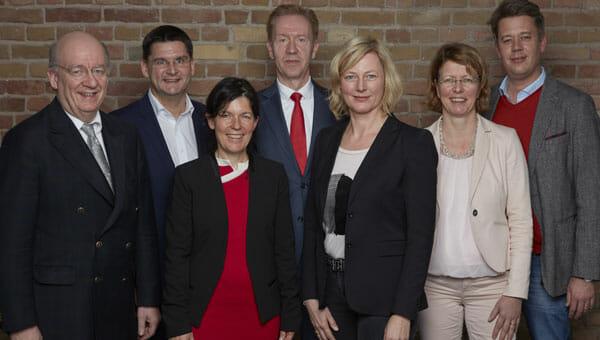 Die Mitglieder der Jury zur Vergabe des CeBIT Innovation Award 2016.
