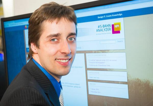 HPI-Projektleiter Dr. Matthieu-P. Schapranow.