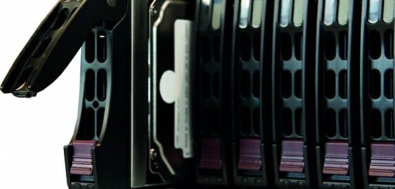 Der NexentaStor SC216 Unified Storage von Thomas Krenn, Detail.