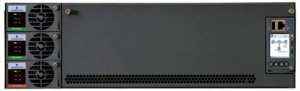 Das neue NetSure 5100 Hybrid-System umfasst Plug-and-Play-Module für Solar-Wandler, DC-DC-Wandler und Gleichrichter.