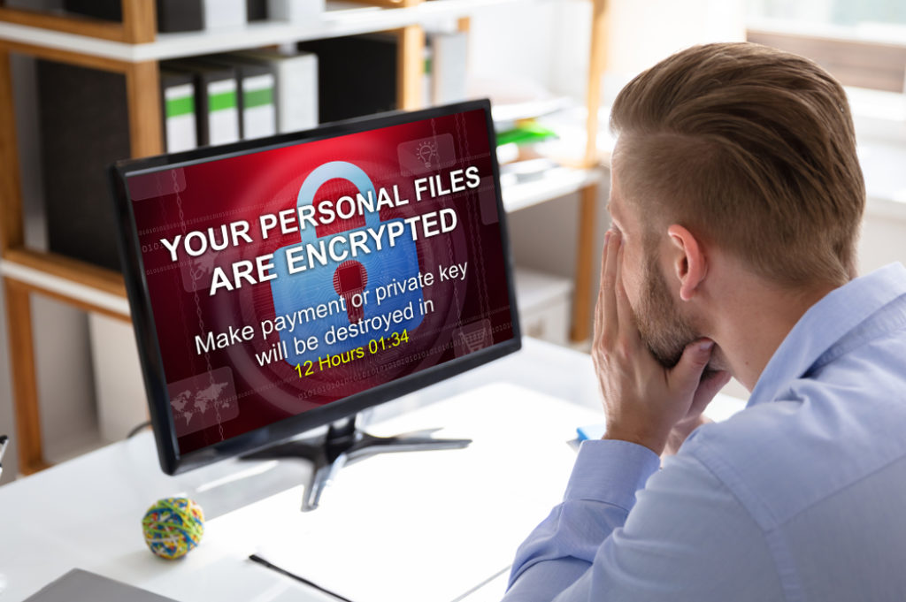 Ransomware-Angriff