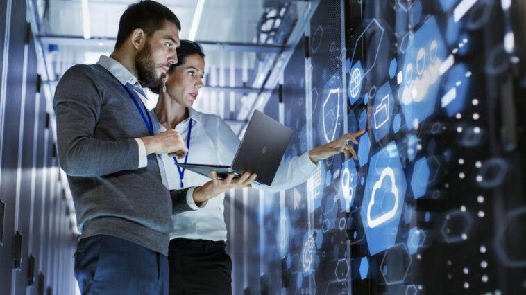 Sicheres Hosting Digitale Transformation