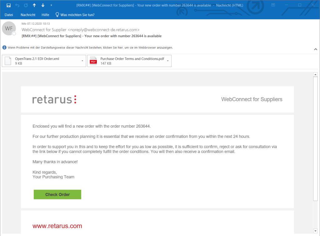 Retarus Webconnect