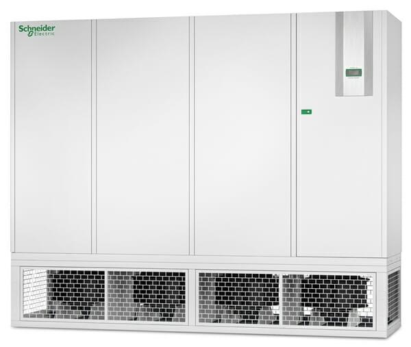 Der Uniflair LE HDCV von Schneider Electric ist wahlweise mit einem Kaltwasserkühlkreislauf mit Zwei- oder  Drei-Wege-Ventil oder zwei getrennten Kühlkreisläufen und entsprechenden Zwei- oder  Drei-Wege-Ventilen ausgestattet.