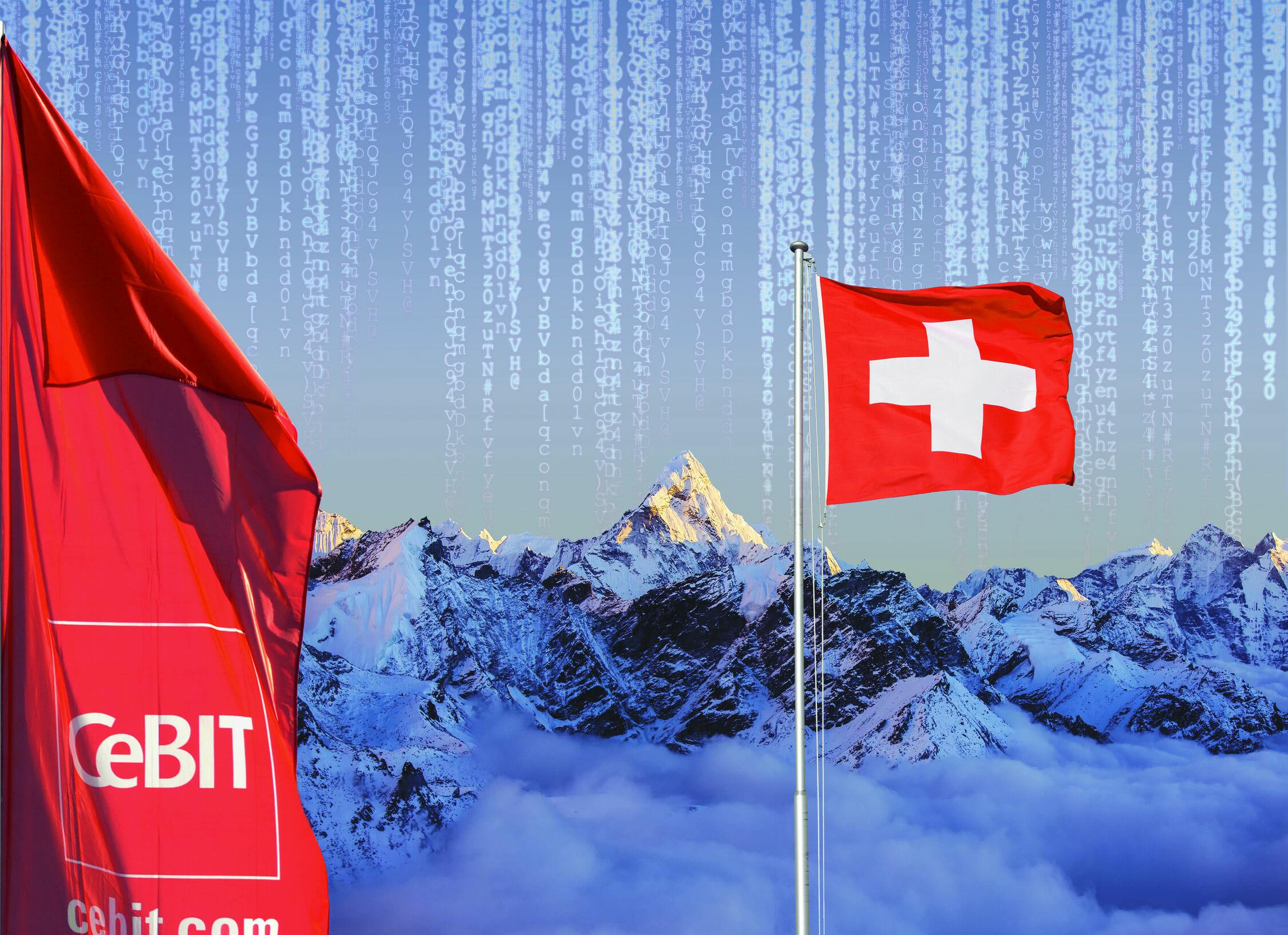 Partnerland der CeBIT 2016 ist die High-Tech-Nation Schweiz.