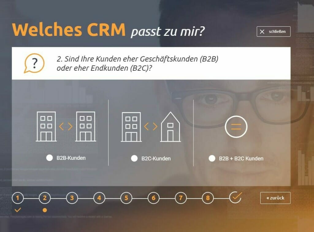 CRM-Software Sellmore