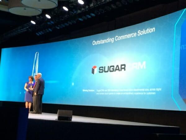 IBM Award für sugarCRM