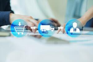 Wareneingangskontrolle Supply-Chain-Planung