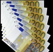 200-Euro-Geldscheine.