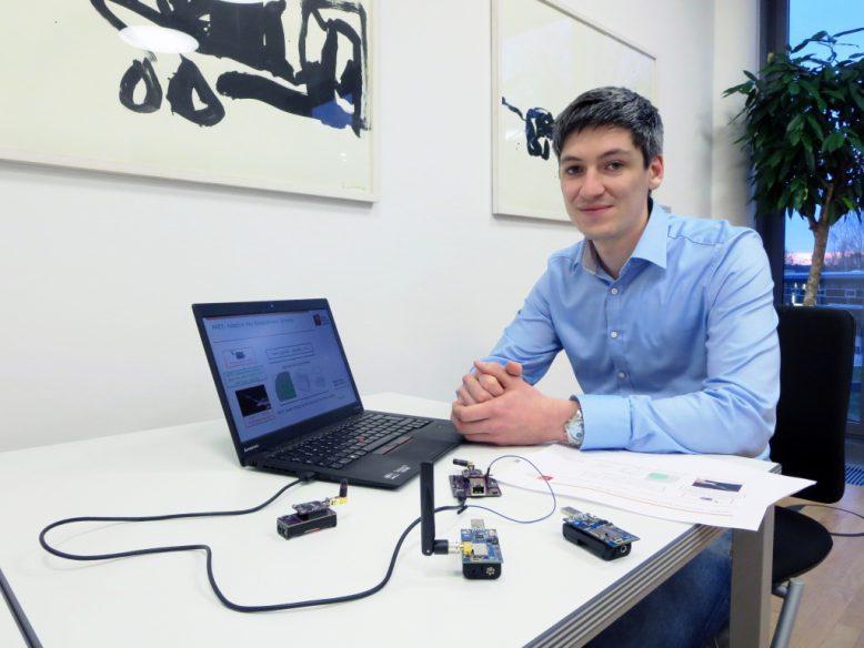 HPI-Forscher Konrad-Felix Krentz, der die Sicherheitslösung für Sensoren und Aktuatoren in Funknetzen entwickelt hat.