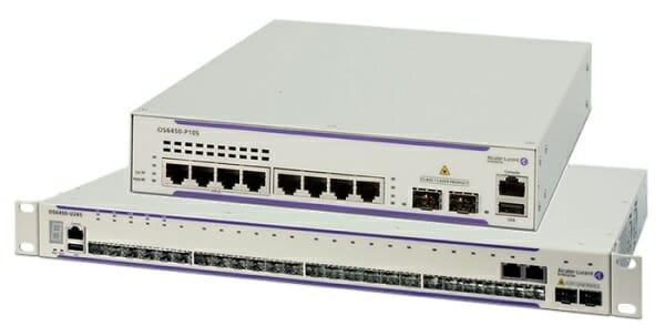 OmniSwitch 6450 und OmniSwitch 6250 von Alcatel-Lucent Enterprise.