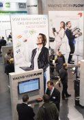 Auf der CeBIT 2016 in Halle 3 präsentierten Kyocera Document Solutions und Ceyoniq Technology ihr ECM- und DMS-Portfolio für den Mittelstand