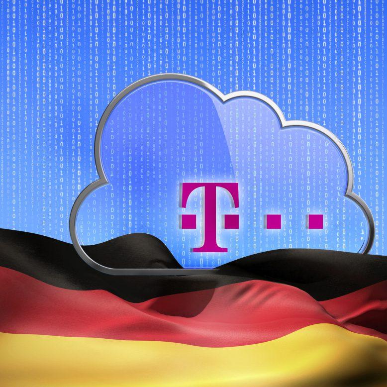 """Die Deutsche Telekom hält bei ihren Cloud-Anboten """"Made in Germany"""" die deutschen Datenschutzrichtlinien ein."""