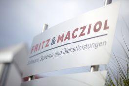 Firmenschild Fritz und Macziol.