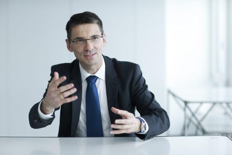 Bernd Leukert, Vorstandsmitglied der SAP SE, Produkte & Innovation.