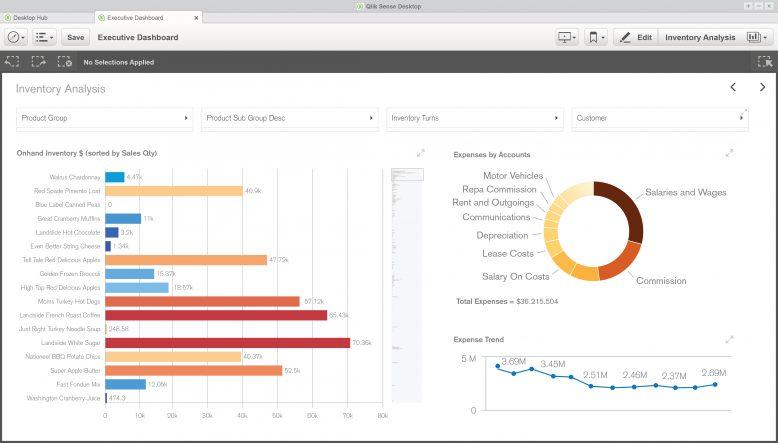 Qlik Sense Desktop kostenfrei als Download verfügbar