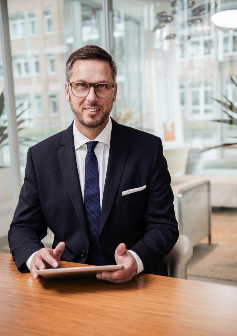 Christopher Rheidt, Geschäftsführer der TA Triumph-Adler GmbH