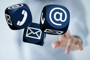Kundenkommunikation Contact-Center-Lösung