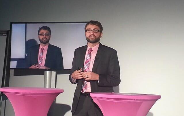 """Oliver Tuszik, Vorsitzender der Geschäftsführung der Cisco Deutschland, erklärt: """"Mit der Intercloud wollen wir ein neues System schaffen, das die verschiedenen Cloud-Modelle miteinander zusammenbringt."""""""