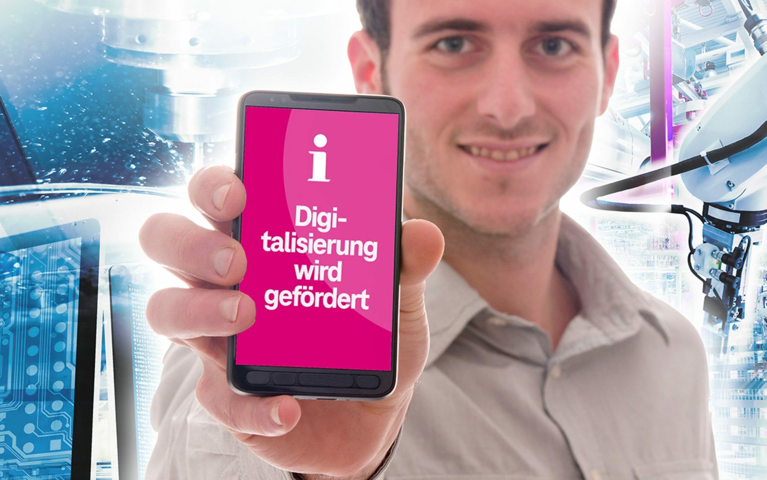 Förderprogramme Telekom Deutschland